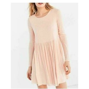 Urban Outfitters Kimchi Blue Peach Mini Dress